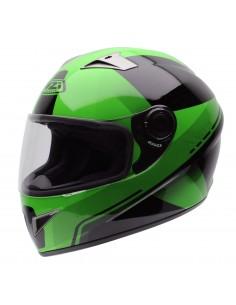 Casco de moto NZI Vital X-Vit Fluo Green