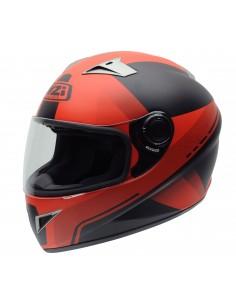 Casco de moto NZI Vital X-Vit Fluo Red
