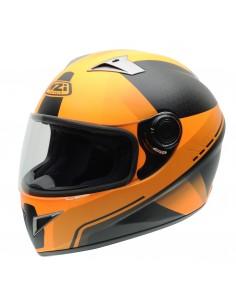 Casco de moto NZI Vital X-Vit Fluo Tangerine