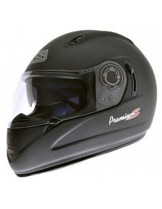 Casco de moto NZI Premium S Duo Negro Mate