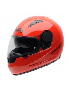 Casco de moto NZI Vitesse II S Duo Fluo Red