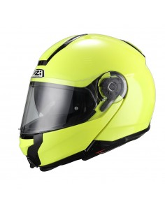 Casco de moto NZI Combi Duo Fluo Yellow