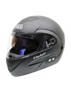 Casco de moto NZI Fibrup Duo Negro Mate PH