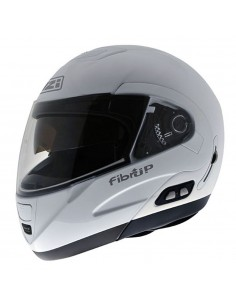 Casco de moto NZI Fibrup Duo Blanco PH