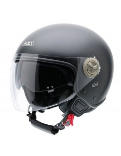 Casco de moto NZI Center Duo Negro Mate