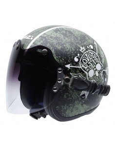 Casco de moto NZI Rolling Duo Love To Death