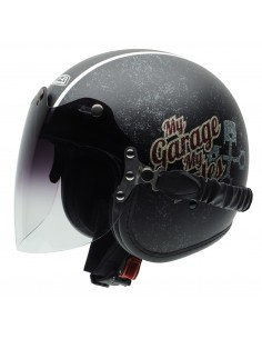 Casco de moto NZI Rolling Duo My Rules
