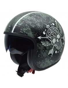 Casco de moto NZI Rolling Sun Love To Death