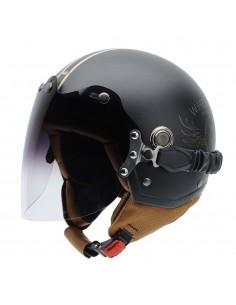 Casco de moto NZI Tonup Visor Steelwheels