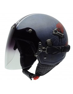 Casco de moto NZI Tonup Visor Live To Ride