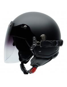 Casco de moto NZI Tonup Visor Negro Mate