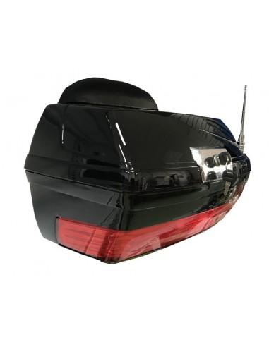 Baúl rígido moto custom  con antelina