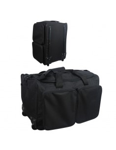 Bolsa maleta trasera viaje con ruedas
