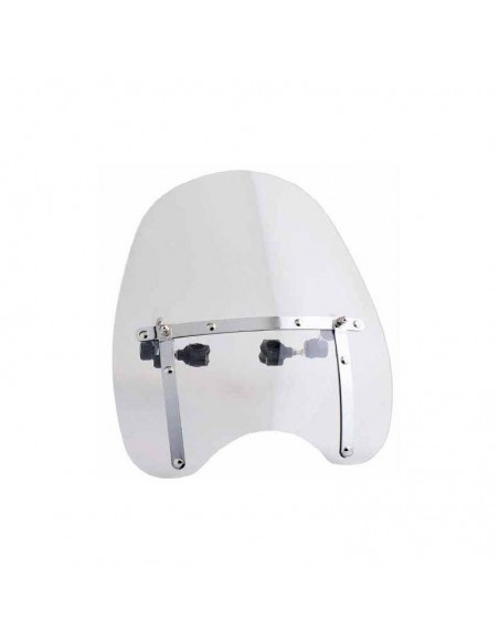 Cupula parabrisas universal pequeña para moto custom