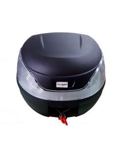 Baúl Top Case para moto negro 35 litros