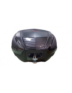 Baúl Top Case para moto catadriópticos ahumados. 40 litros