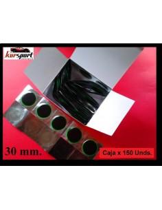 Parches cubierta neumáticos 30 mm