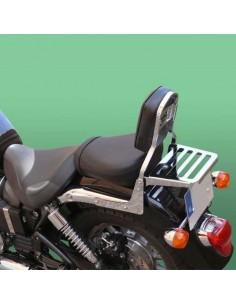 Respaldo con portaequipajes para moto Triumph America