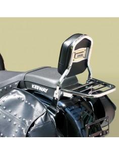 Respaldo con portaequipajes para moto Keeway Superlight 125 STD