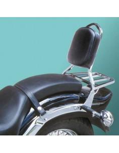 Respaldo con portaequipajes para moto Yamaha Drag Star 650 XVS