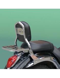Respaldo con portaequipajes para moto Kawasaki Vulcan Vn 900