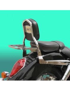 Respaldo con portaequipajes para moto Suzuki Marauder 800