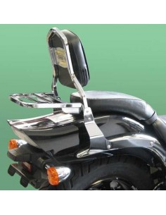 Respaldo con portaequipajes para moto Suzuki Intruder 800