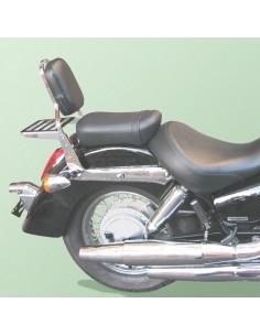 Respaldo con portaequipajes para moto Honda Vt 750 Shadow C4