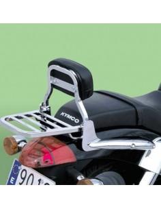 Respaldo bajo con portaequipajes para moto Kymco Venox 250