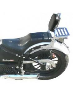 Respaldo con portaequipajes para moto Leonart Daytona 125 - 350