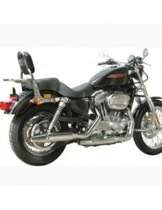 Respaldo con portaequipajes para moto Harley Davidson Sportster 883 - 1200 (Desde 2005)