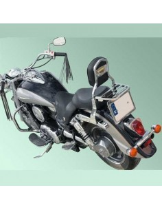 Respaldo con portaequipajes para moto Kawasaki Vulcan Vn 1600 Classic