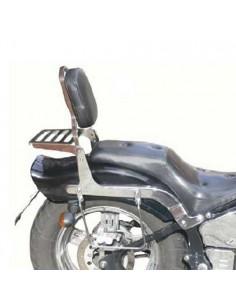 Respaldo con portaequipajes para moto Leonart Spyder 125