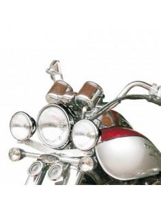 Soporte de faros auxiliares para moto Daelim Daystar 125