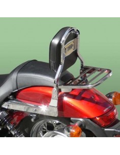 Respaldo con portaequipajes para moto Honda Vt 750 Shadow Spirit C2