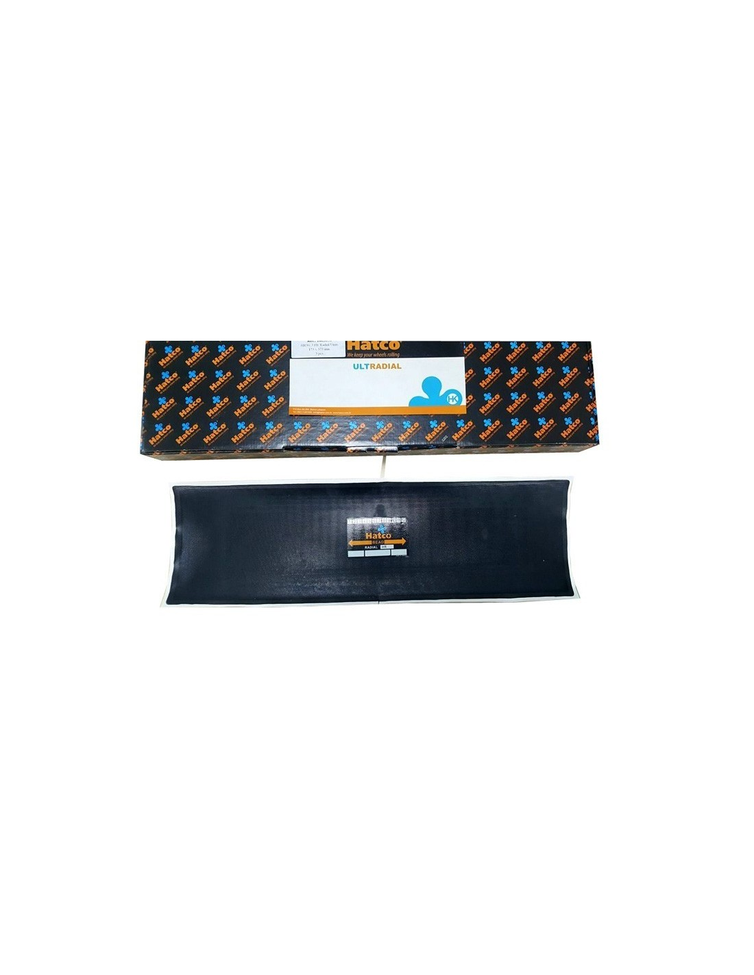 Parches radiales neumáticos tubeless 175x575 mm HR50