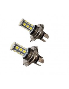 Bombillas Led H4 18 SMD