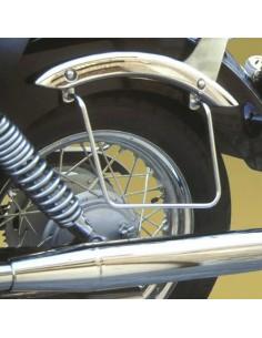 Soportes de alforjas para moto Yamaha Drag Star 125 - 250 - 1100 Classic