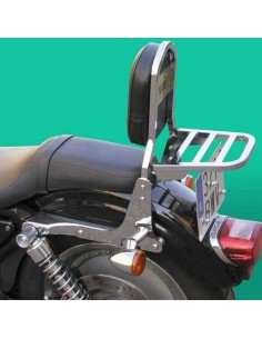Respaldo con portaequipajes para moto Harley Davidson Sportster (Hasta 2004)