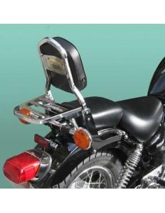 Respaldo con portaequipajes para moto Yamaha Virago 125