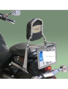 Respaldo con portaequipajes para moto Yamaha Midnight Star 1300