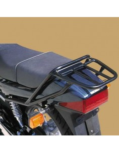 Portaequipajes negro para moto Honda Cb 250