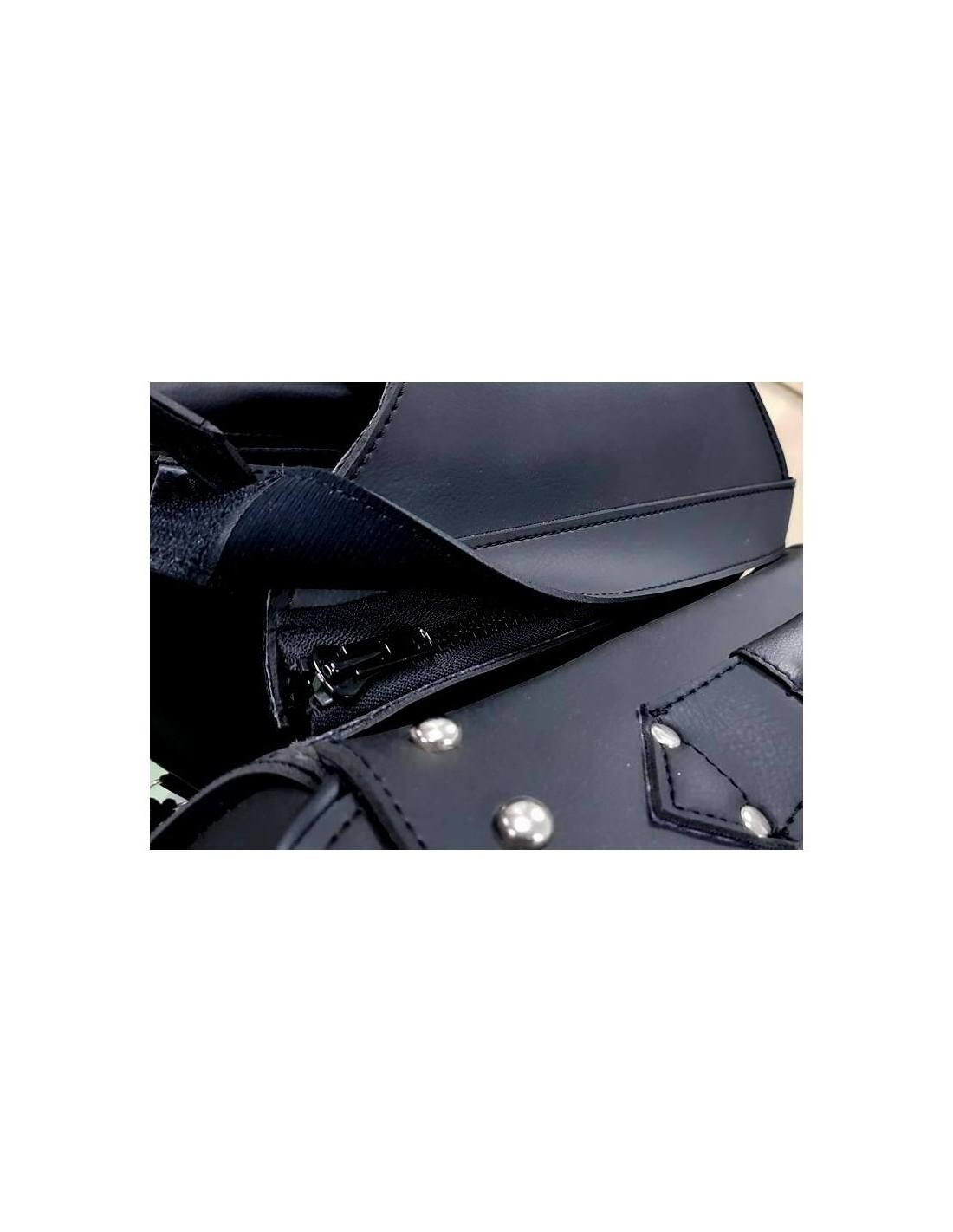3b13177d4f7 Alforjas moto de cuero para moto custom