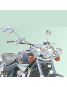 Soporte de faros auxiliares para moto Kymco Venox 250