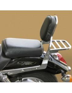 Respaldo con portaequipajes para moto Honda Vtx 1800
