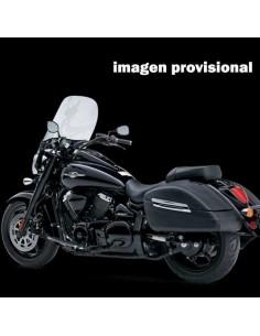 Respaldo con portaequipajes negro para moto Suzuki Intruder C1500T