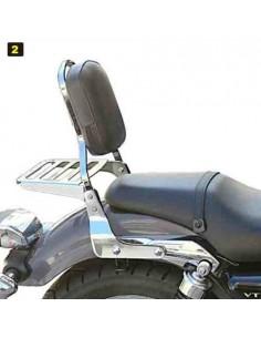Respaldo con portaequipajes para moto Honda Vt 750S Shadow