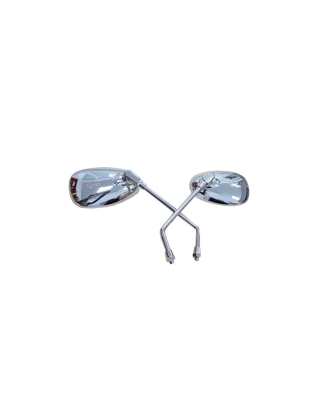 Espejos retrovisores cromados derecho + izquierdo 81-K064-01-4